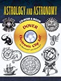 img - for Astrology and Astronomy CD-ROM and Book (Dover Electronic Clip Art) book / textbook / text book