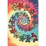 Scorpio Grateful Dead Spiral Wall Poster