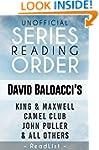 Series List - David Baldacci - In Ord...