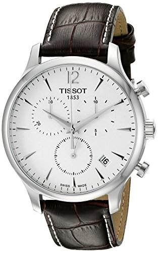 tissot-t0636171603700-tradition-mens-chrono-quartz-silver-dial-watch-with-brown-leather-strap