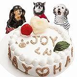 即日出荷12時まで 犬用無添加誕生日ケーキ HappyDay4号ササミ入り ドッグフード人気プレゼント 他メーカーとの商品との同梱不可 おやつ 安心 帝塚山WANBANA ワンバナ