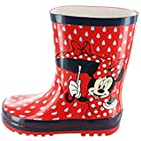 Minnie Mouse Rubber Girls Wellies