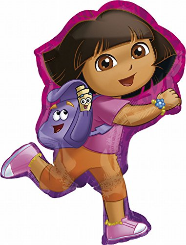 Anagram International 2646501 Dora Off Exploring Shop Balloon Pack, 32""
