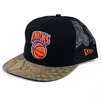New York Knicks New Era A-Frame Team Snaketruck Strapback Hat by New Era