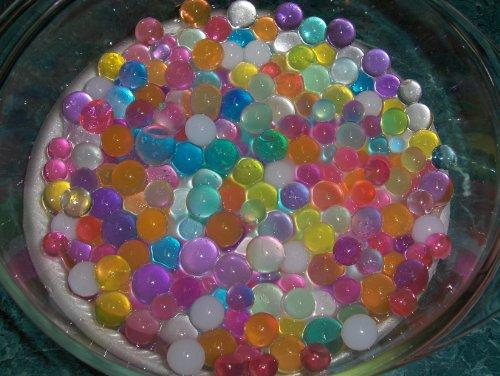 4oz Jelly BeadZ® Water Bead Gel- Rainbow Mix