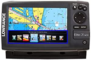 Lowrance Elite-7 HDI Gold Combo 83/200/455/800 T/M Ducer - Chart US/Canada Coastal Great Lakes & Major Canadian Lakes(DISCONTINUED)
