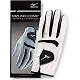 Mizuno Comp Women's Glove, Left, White/Black, Large