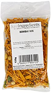 JustIngredients Bombay Mix 125g (Pack of 6)