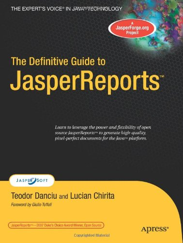 The Definitive Guide to JasperReports
