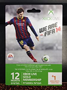 Xbox LIVE 12 Month Gold Membership Card by Microsoft Software
