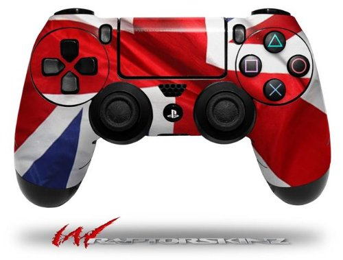 Наклейки для аксессуаров PlayStation 4 Union Jack 01 - Decal Style Wrap Skin fits Sony PS4 Dualshock 4 Controller - CONTROLLER NOT INCLUDED