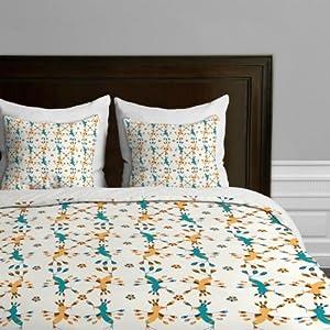 Amazon.com - DENY Designs Gabriela Larios Tortolitas Duvet Cover, King