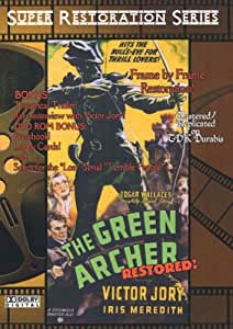 The Green Archer Serial Restored! On Scratch Proof DVD's!