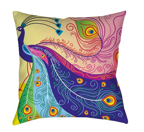 Peacock Feather Design Bedding front-1045480