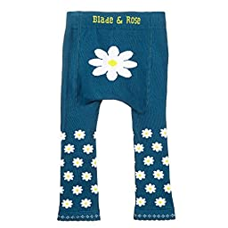 Blade And Rose Baby Daisy Leggings 00-06 months Teal