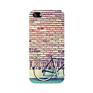 Ebby Cycle by the Wall Premium Printed Case For Apple iPhone 4/4s