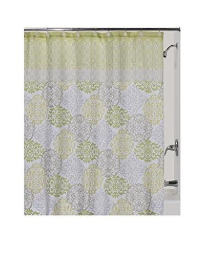 Creative Bath Gypsy Shower Curtain, Citron