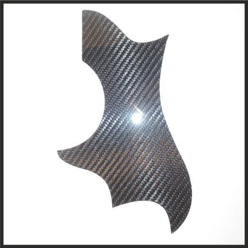 Acoustic Pickguard Gibson Dove Style Real Carbon Fiber (Fabric C201T2)