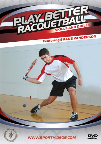 racquetball drills Here are some good drills to use to improve your game working with the backhand and forehand.