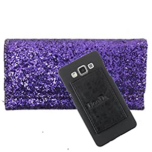 DooDa PU Leather Wallet Flip Case Cover With Card & ID Slots For HTC Desire L - Back Cover Not Included Peel And Paste