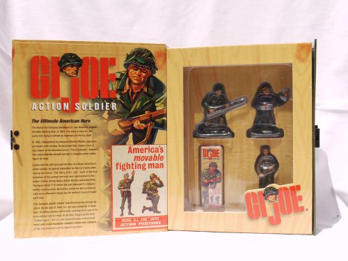 Buy Low Price The Ertl Company G.I. Joe Action Soldier 3 Piece W.Britain Pewter Replicas Combat Soldier, Action Soldier, Military Police (2000) Figure (B0058AENBY)