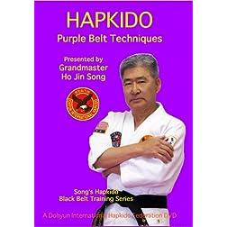 Song's Hapkido Purple Belt Techniques