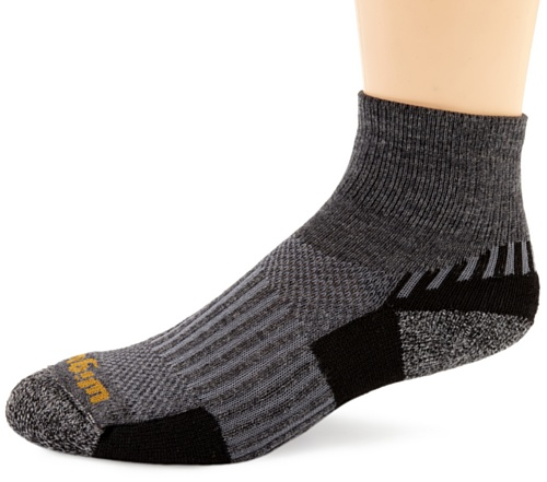 Buy Low Price Wigwam Unisex Men's/Women's Merino/Silk Scout Quarter Length Sock (F2373)
