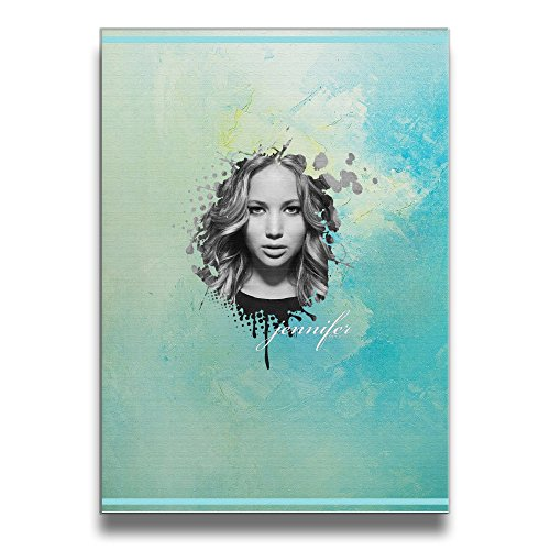 [Bro-Custom Jennifer Poster Lawrence Frameless Paintings Wooden Bedroom Hanging Painting 1620 Inches] (Roomba Costume Pattern)