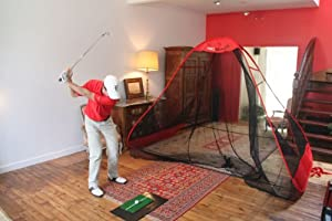 Golf Practice Net Training Package: ProReturn + ProMat + FREE ProChipping Golf Net by ProAdvanced