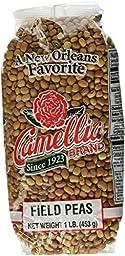 Camellia Brand Field Peas - Dry Bean, 1 Pound Bag