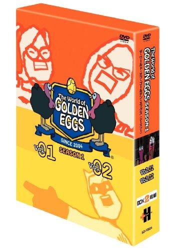 The World of GOLDEN EGGS  SEASON 1  DVD-BOX
