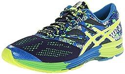 ASICS Men\'s Gel-Noosa Tri 10 Running Shoe,Midnight/Flash Yellow/Flash Green,10 M US