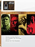 Classic Quad Set 16 (The Alligator People / The Cabinet of Caligari / The Fly / House of the Damned)