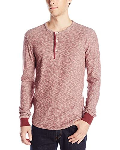 Lucky Brand Men's Twisted Slub Henley