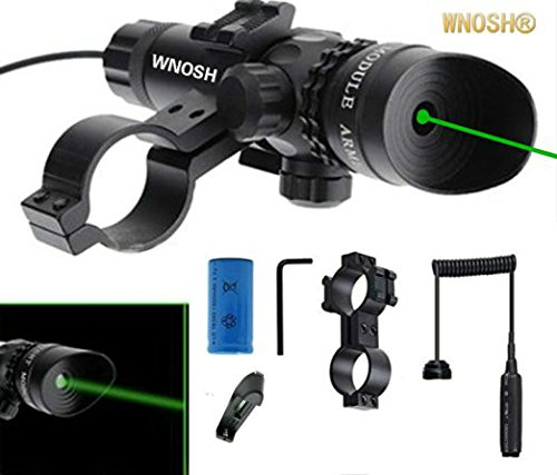 Why Should You Buy WNOSH Super Power Tactical Strike Head Adjustable Green Laser Sight Scope with Mo...