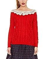 Trakabarraka Jersey Neck (Rojo)