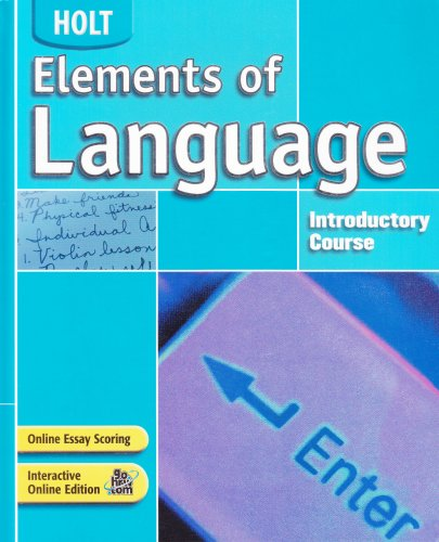 Elements of Language: Student Edition Grade 6 2004