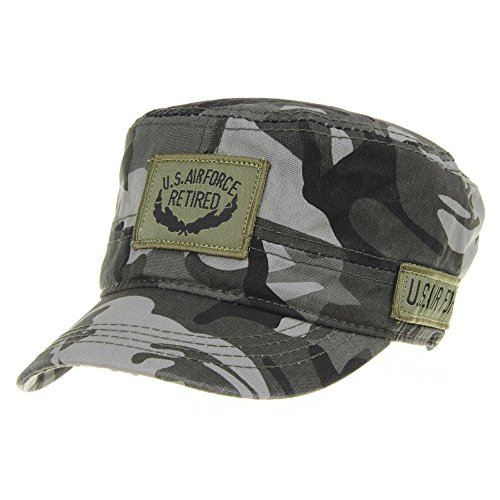 withmoons-baseballmutze-army-cadet-cap-camouflage-military-us-air-force-cotton-hat-lx4291-olive