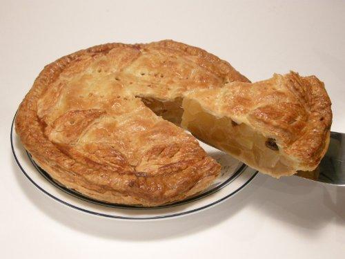 『おとりよせママタルト』のアップルパイ Homemade Applepie 21cmのホールパイ 6~7人でお召し上がりいただけます