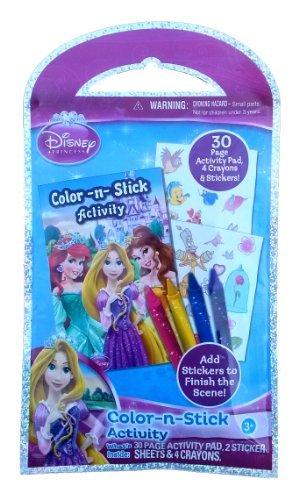 Disney Princess Color -n- Sitick Activity