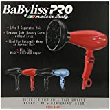 Babyliss Pro Diffuser Italian Series Dryers, Black, Full Size
