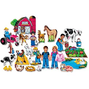 Fun on the Farm Felt Figures for Flannel Board