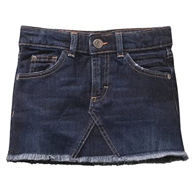 Short Blue Skirt