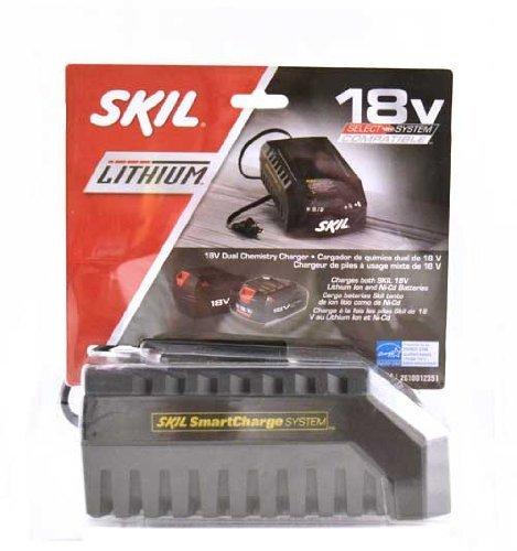 SKIL SC118C-LI 18-V Lithium Ion and Ni-Cd Charger