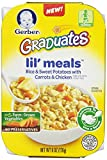 Gerber Graduates Lil Meals, Rice, Sweet Potato, Carrot and Chicken, 6 oz, 6 Count