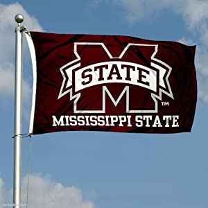 Buy Mississippi State Bulldogs Double-Sided 3x5 Flag by College Flags and Banners Co.