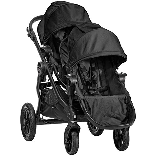 Baby Jogger City Select Black Frame Stroller with 2nd Seat, Black - 1