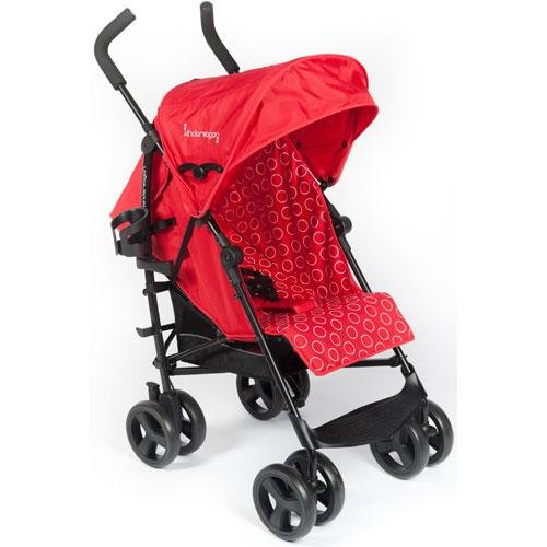 Kinderwagon - Skip Umbrella Stroller - Red - 1