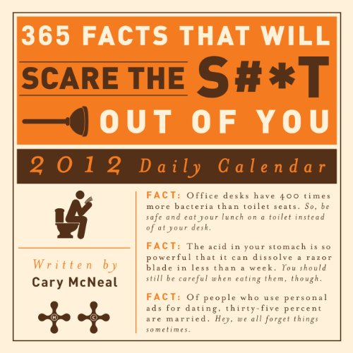 365 Facts that Will Scare the S#*t Out of You 2012 Daily Calendar