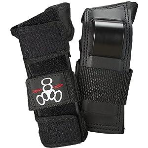 Triple 8 Saver Series Wristsavers (Black, Small)